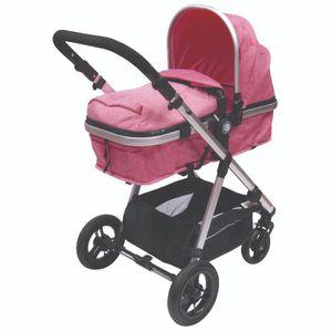 Coche Para Bebé Ciera Deluxe Rosado - EB150RS