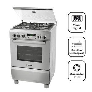 Cocina Pro 465 4 Hornillas Inox