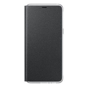 Cover Galaxy A8+ Neon Flip EF-FA730PBEGWW Negro