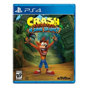 PS4 Crash Bandicoot Nsane Trilogy