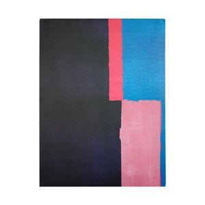 Cuadro Decorativo Print Azul/Rosado 30x40