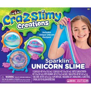 Juguete - Cra Z Art - Slimy Sparkling Unicorn Kit