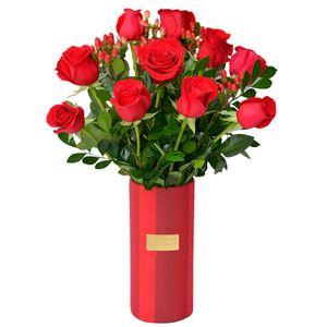 Arreglo Floral Colección Rubí  Valentín