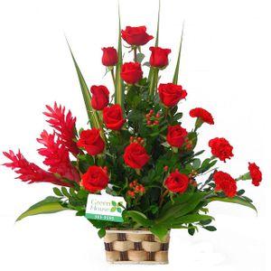 Arreglo Floral Canasta Esplendor