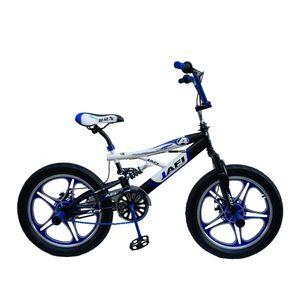 Bicicleta JAFI Acrobática 1A Doble Suspensión Aro 20 Unisex Azul