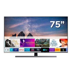 "Televisor SAMSUNG QLED 4K Ultra HD Smart TV 75"" Q80R"