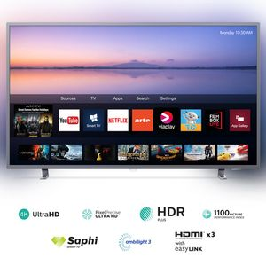 Televisor PHILIPS LED 55'' UHD 4K Smart TV PUD6703