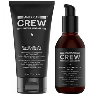 Crema de Afeitar + Bálsamo After Shave American Crew Men