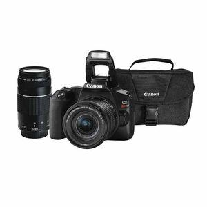 EOS Combo 54: Cámara Fotográfica CANON SLR EOS Rebel SL3 18-55mm IS STM + EF 75-300mm + Maletín de Regalo