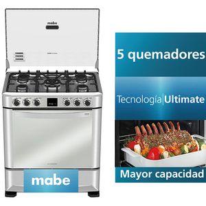 Cocina a Gas MABE 5 Quemadores CMP7670FX0