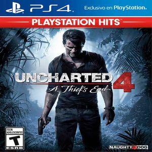 Juego de Acción PS4 Uncharted 4: A Thiefs End Playstation Hits