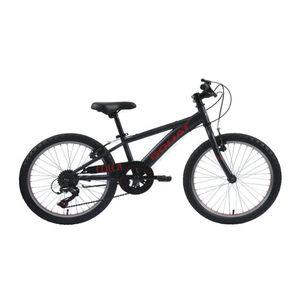 Bicicleta Hombre Colca Grafito/Rojo - aro 20
