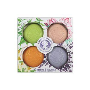 Estuche Jabón Provence Gift Set 4 Soaps 100GR