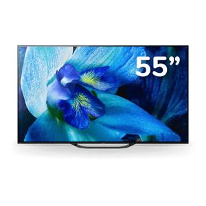 """Televisor OLED 4K Ultra HD Smart TV 55"""" XBR-55A8G LA8"""
