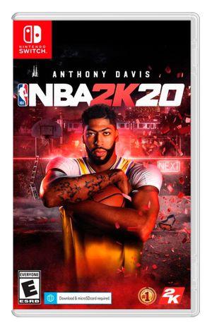 Juego Nintendo Switch NBA 2K20