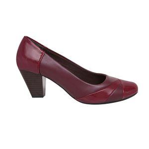 Zapatos de Vestir Madison Mujer Cortes Guinda