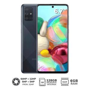 "Smartphone SAMSUNG Galaxy A71 6.7"" 128GB Negro"